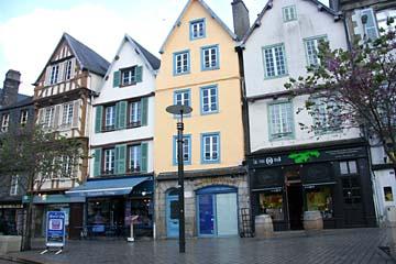 in der Altstadt von Morlaix
