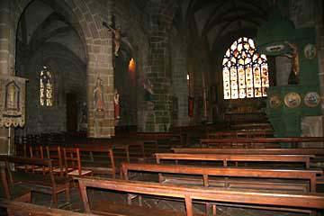 in der Wallfahrtskirche St-Ronan in Locronan, 15. Jahrh.