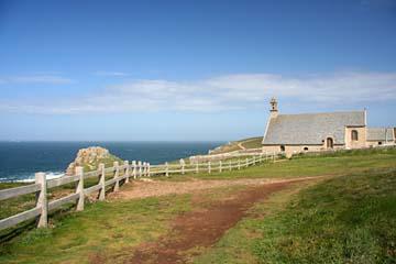 Pointe du Van, Kapelle am Meer