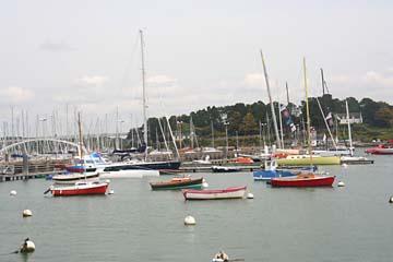 großer Jachthafen in La-Trinite-s.-Meer