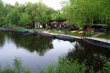 "Moorlandschaften im ""Parc Regional de Briere"", Ile de Fedrun"