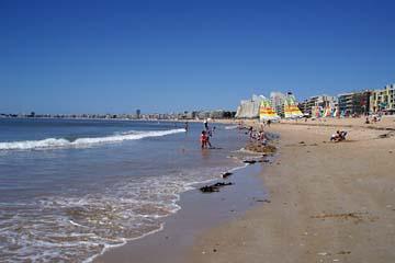schöner Strand bei Pornichet bis la Baule