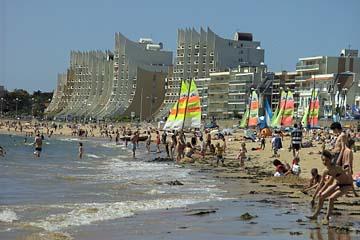 tolle Hotels und Sandstrand in la Baule