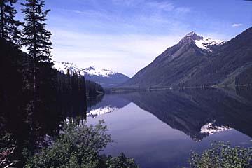 Am Duffy Lake in British Columbia, Kanada