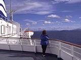 Auf der Inside Passage im Westen von Britisch Columbia