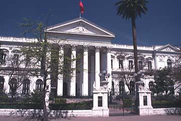 das chilenische Museum für prekolumbische Kunst in Santiago de Chile, Chile