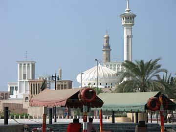 die Grand Mosque im Stadtteil Dubai, Vereinigte Arabische Emirate