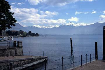 auf der Hinfahrt am Lago Maggiore in Italien