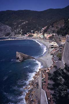 Moterosso in Ligurien Bild 36 Küste bei Monterosso