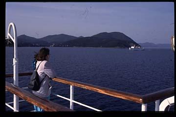 Insel Elba Bild 135 Fähre Piambino - Portoferrairo