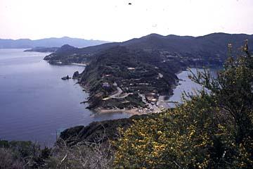 Insel Elba Bild 164 Landenge bei Enfola