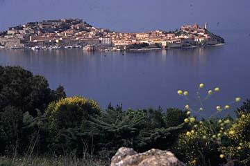 Insel Elba - Blick auf Portoferreio