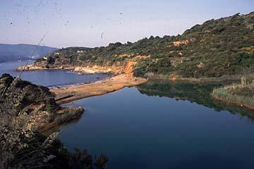 Insel Elba Bild 226 gr�ne Lagune