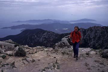 Insel Elba Bild 296 Sicht vom Monte Capanne
