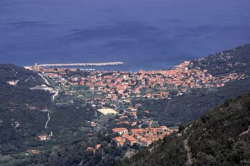 Insel Elba Bild 316 Blick auf Marciana Marina