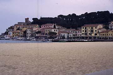 Insel Elba Bild 345 Sandstrand bei Marina di Campo
