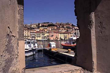Portoferraio auf Elba Bild 405 Portoferraio