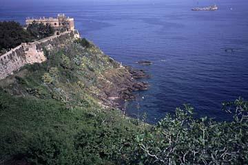 Portoferraio auf Elba Bild 384 Küste bei Portoferraio