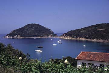Insel Elba Bild 417 Bucht Viticcio