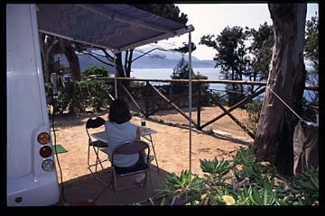 Insel Elba Bild 421 Campingplatz Scaglieri