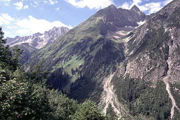 Fernwanderweg E5 - Bild 0033 Aufstieg zur Memminger Hütte