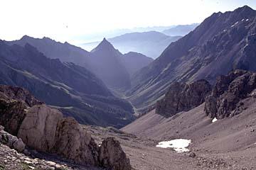 Fernwanderweg E5 - Bild 0069 Blick nach Süden ins Lochbachtal von Seescharte