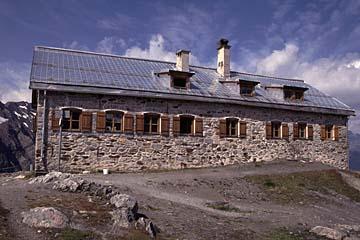 Fernwanderweg E5 - Bild 0175 Braunschweiger Hütte in den Oetztaler Alpen (2758m)