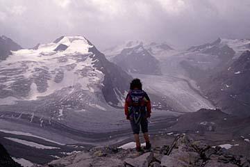 Fernwanderweg E5 - Bild 0187 am Pitztaler Joechl (2599m), höchster Punkt unseres E5