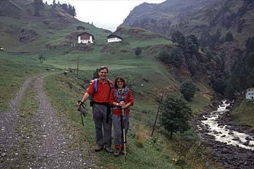 Fernwanderweg E5 - Bild 0216 in Südtirol, vom Timmelsjoch ins Passeiertal