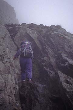 Fernwanderweg E5 - Bild 0300 Aufstieg zum Hirzer