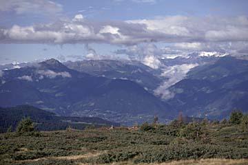 Fernwanderweg E5 - Bild 0320 Meraner Hütte Jenesien, Ausblick nach Westen