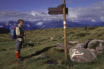 Fernwanderweg E5 - Bild 0323 weite Hochfläche in den Sarntaler Alpen