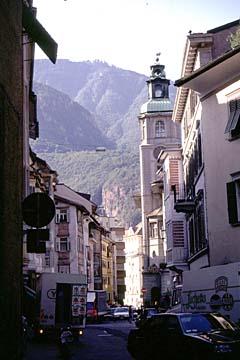 Fernwanderweg E5 - Bild 0399 Bozen im Etschtal