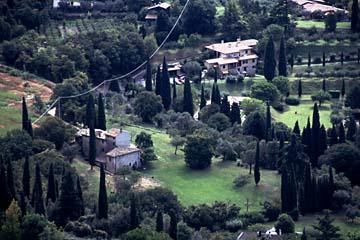 typisch italienische Landschaft am Gardasee