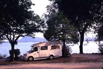der Campingplatz Europa Silvella bei Felice del Benaco am Gardasee