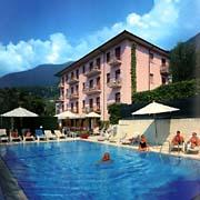 das Hotel Diana in Malcesine am Gardasee, Oberitalien