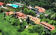 das Hotel Poiano in Garda am Gardasee, Oberitalien