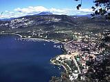 Blick auf Garda in Oberitalien