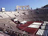 Das Amphitheater in Verona in Italien