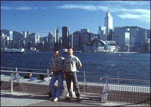 Wir in Hong Kong