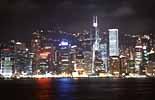 Sehenswertes an der Skyline Hong Kongs in Südostasien
