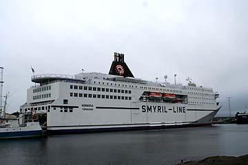 Fähre Norröna zwischen Dänemark und Island