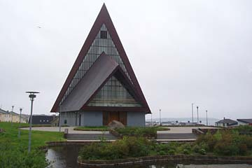 Kirche in Torshavn, Färöer-Inseln