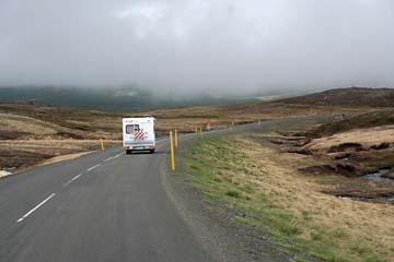 von Seydisfjördur nach Egilsstadir, Island