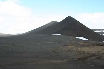 Lava-Landschaft im Norden von Island