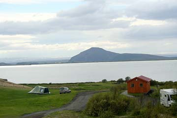 Myvatn-See im Naturschutzgebiet Myvatn im Norden von Island