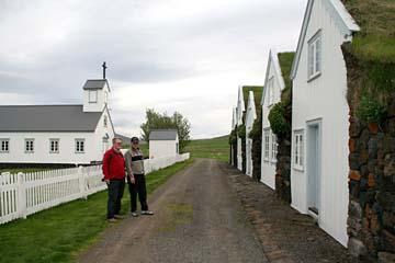 Museumsdorf Grenjadarstatur im Norden von Island
