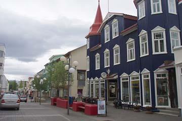 City-Mail in Akureyri, Nordisland