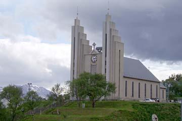 Kirche in Akureyri, Nordisland