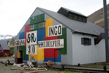 Museum in Siglufjördur, Nordisland